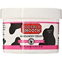 UDDERLY SMOOTH Extra Care Cream with 20% Urea, Unscented, 8 Ounce Jar