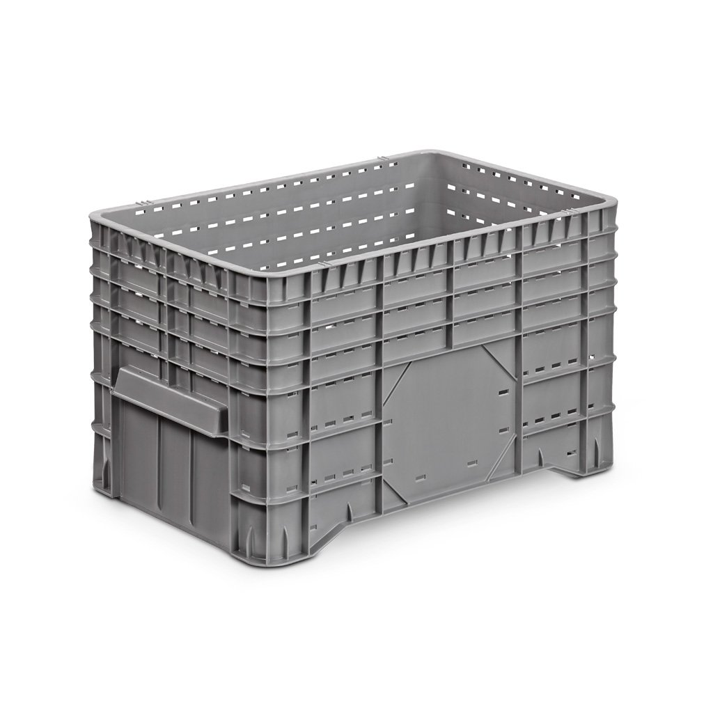 VE = 1 Stü ck - Groß behä lter aus Polyethylen - 1020x640x580 mm - Groß volumenbehä lter, Kunststoff-Behä lter Plastic Union