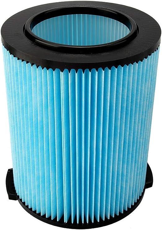 Vac-Cambio del Filtro de vacío Cambio del Filtro Filtro Compatible con Ridgid VF5000 Lavable Aspirador Filtro de Aire Cartucho: Amazon.es: Hogar