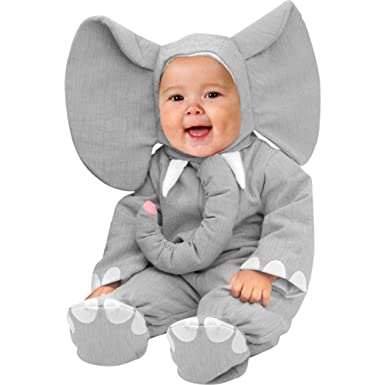 Amazon.com: Unique Child\'s Infant Baby Elephant Halloween Costume ...