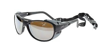 Julbo Explorer 2.0 Gafas de Sol, Negro Matt, Lentes de Policarbonato Categoría 4