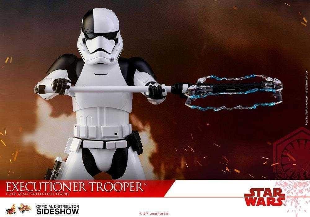 Hot Toys Star Wars The Last Jedi bourreau Trooper Figure Stand échelle 1//6th