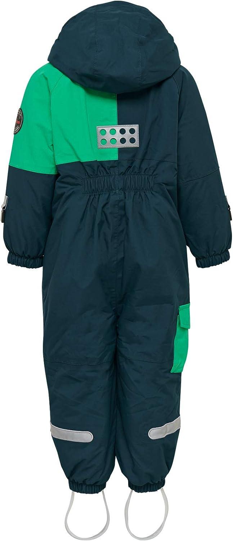 3T Dark Khaki Lego Wear Kids Extra-Durable Ski Snow Suit W//Foot Straps