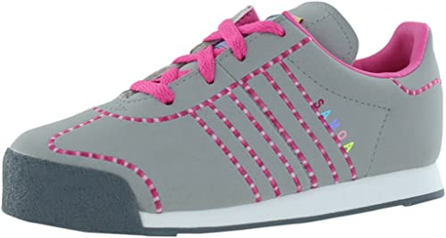adidas samoa rosado con gris