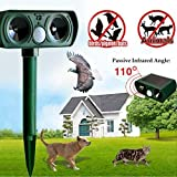 Best Solar Ultrasonic Pest Repellers - Tyjtyrjty Ultrasonic Dog Cat Repeller Solar Outdoor Animal Review