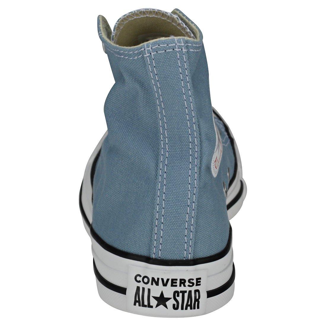 Converse Unisex-Erwachsene Chuck Taylor CTAS Hi Sneakers Blau Denim (Washed Denim Blau 444) 439300