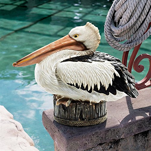 Design Toscano Dock of The Bay Pelican Statue