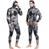 Sporasub 7mm Sea Green Men/'s Spearfishing Camo Suit 2 Piece Scuba Diving Wetsuit
