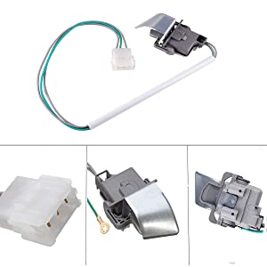 Podoy Washer Lid Switch 3949238 for Whirlpool Kenmore WP3949238 AP3100001 PS350431 AP6008880 PS11742021 with Metal Shield 90 Series Lid Switch