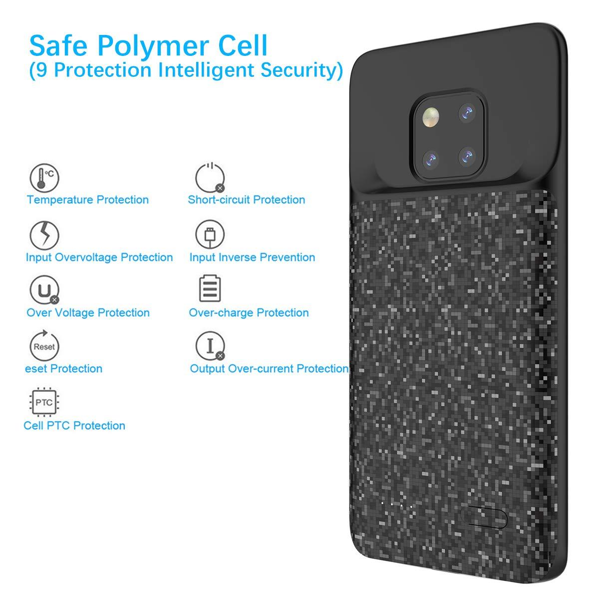 Amazon.com: iPromama Huawei Mate 20 Pro 5000mAh Battery Case ...