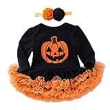 Infant Toddler Baby Girls Halloween Dress Pumpkin