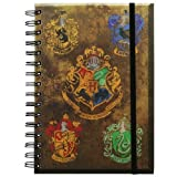 Harry Potter Official Crest Note Book (One Size) (Multicolour)