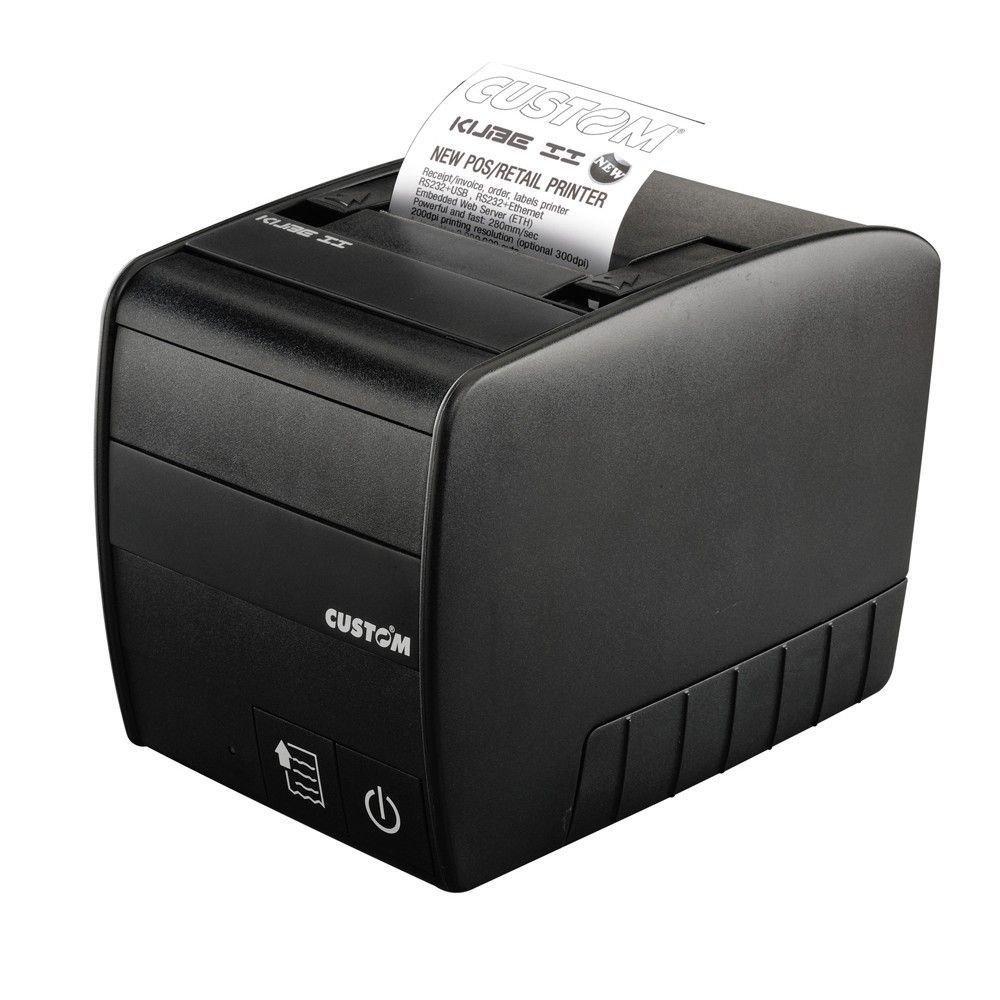 Impresora térmica Custom Kube II - USB/Serial - POS, comercios ...