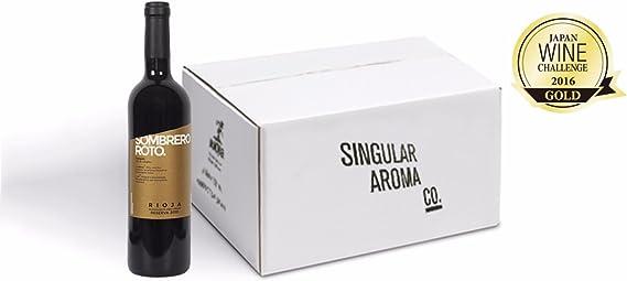 Vino Tinto Reserva Sombrero Roto DO Rioja Cosecha 2010 (Pack 6): Amazon.es: Alimentación y bebidas