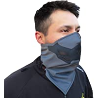 Half Face Mask for Cold Winter Weather. Use This Half Balaclava for Snowboarding Ski Motorcycle. (Many Colors) (Gray)