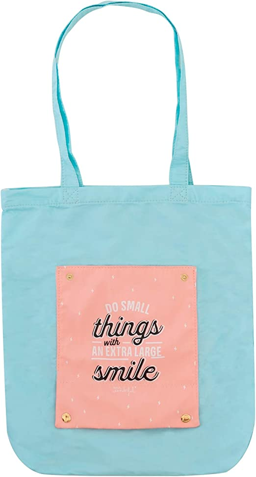 Mr. Wonderful Tote Bag, Multicolor, 37: Amazon.es: Hogar