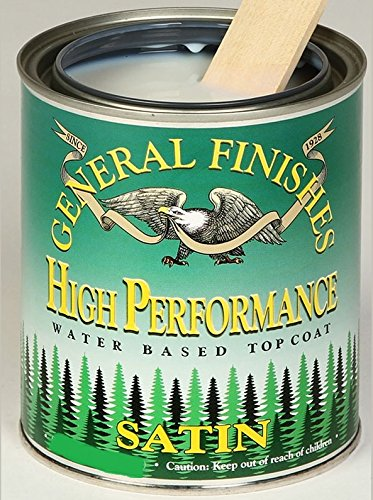 General Finishes High Performance Water Based Topcoat 1 gallon Satin