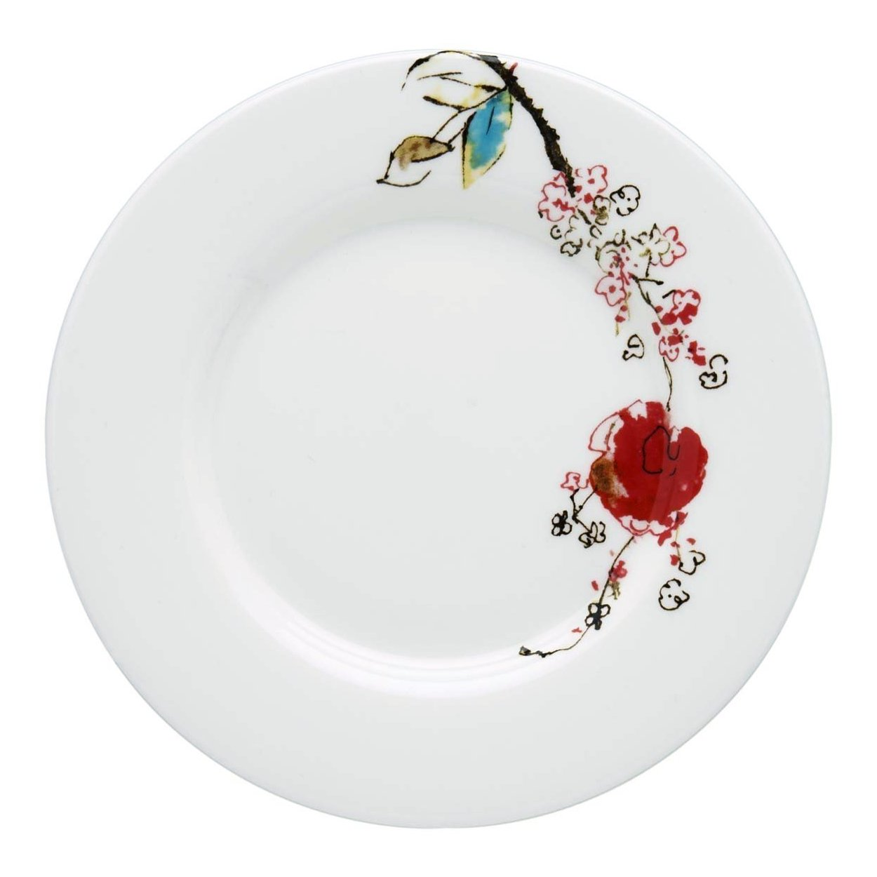Lenox Simply Fine Chirp 5.75 Inch Saucer, Set of 4