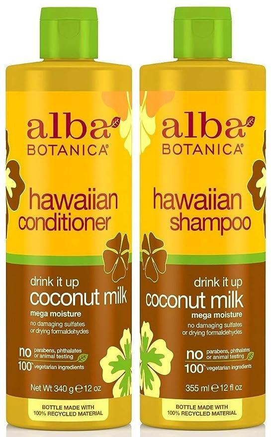 Alba Botanica Environmentally Friendly Shampoo And Conditioner