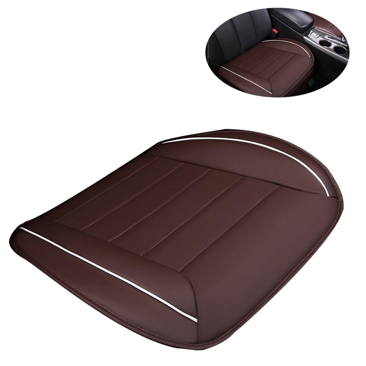 Caf/é WINOMO Tapa para silla coche universal de cuero Coj/ín Asiento Coche