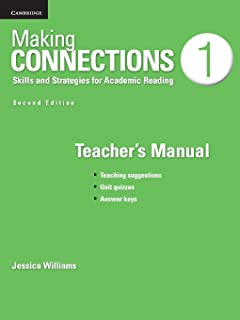 making connections level 3 teacher s manual skills and strategies rh amazon com making connections 3 teacher's manual Teachers Manuals Stretch