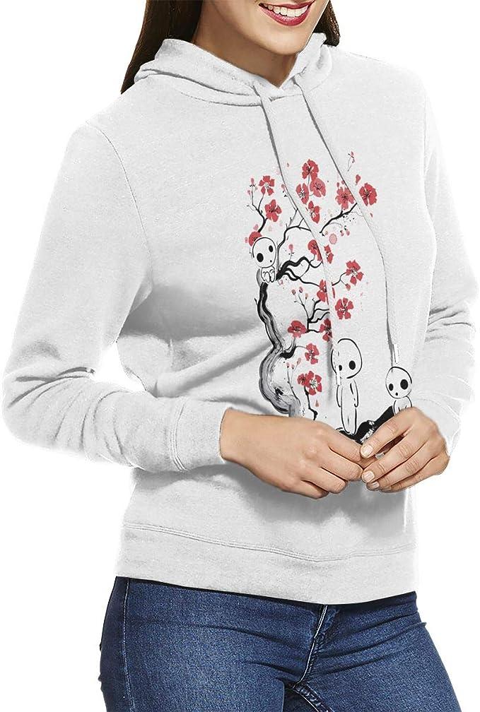 Amazon Com Bakugou Anime Wolf Princess Mononoke Women S Pullover