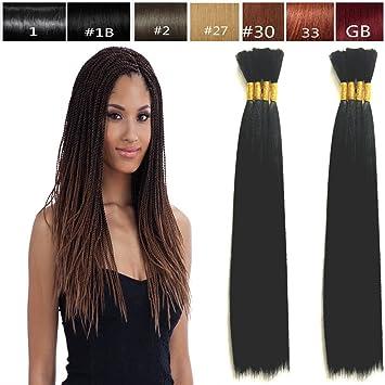 Hot Selling Yaki Bulk Braiding Hair, Human