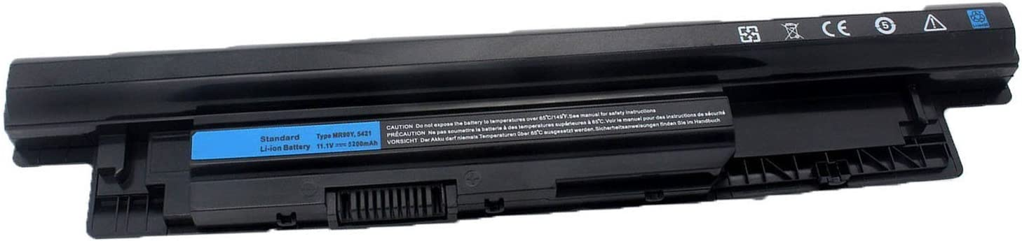 Duliing 6 Cell 11.1V 5200mAh/56WH; MR90Y 0MF69 N121Y G35K4 Laptop Battery for Dell Inspiron 14-3421 14-3437 14R-5421 14R-5437, 15-3521 15-3537 15R-5521 15R-5537, 17-3721 17-3737 17R-5721 17R-5737