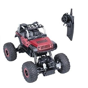 RC Coche Electrico para Niños Coche Teledirigido con Mando, Coches RC 4WD de Alta Velocidad