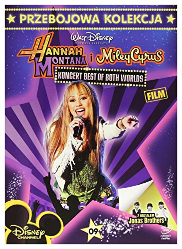 Hannah Montana/Miley Cyrus: Best of Both Worlds Concert Tour [DVD] (English audio. English subtitles)