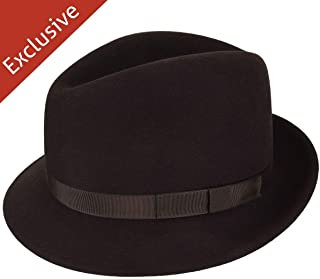 product image for Hats.com Paradigm Fedora - Exclusive Brown, Large