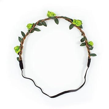Farbe Wählbar Blumen Haarband Stirnband Haarschmuck Kopfschmuck Bohemia Style
