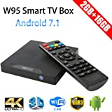 Greatlizard W95 TV Box Android 7.1 2GB+16GB Quad-core 64-bit CPU Ultra HD 4K WiFi