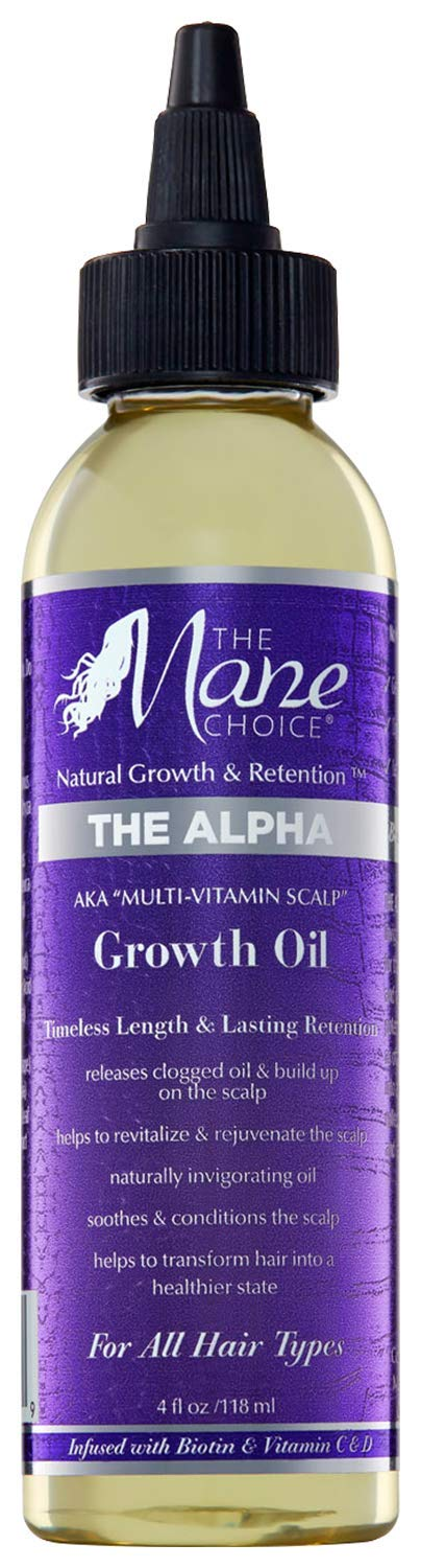 THE MANE CHOICE - Multi-Vitamin Scalp Nourishing Hair Growth Oil (4 Ounces / 118 Milliliters)
