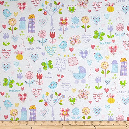 Hearts Cotton Quilt Fabric - 3