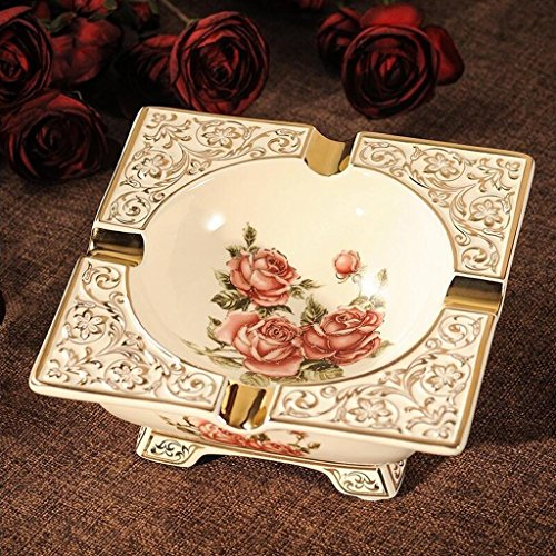 - FACAIG Vertical integration pink head luxury Ceramic Ashtray creative fashion lounge around the table the retro decor court poison marriage