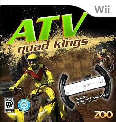 ATV Quad Kings with Racing Wheel - Nintendo Wii