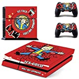 Freesticker® Fallout 4 For Sony Playstation 4 Skin Sticker Vinyl Stickers for PS4 Console x1 Controller Skins x2 - S.P.E.C.I.A.L. Nukacola Vault Boy Approval