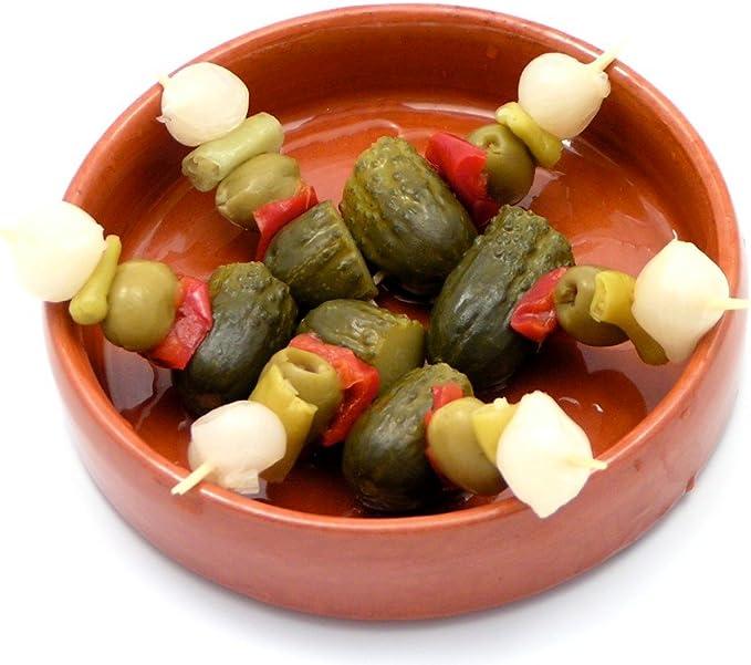 Banderillas (Gherkin, Olive and Pickle Skewers) 4Kg: Amazon.co.uk: Grocery