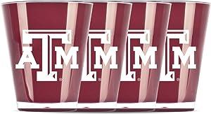 NCAA Texas A & M Aggies Insulated Acrylic Shot Glass Set of 4