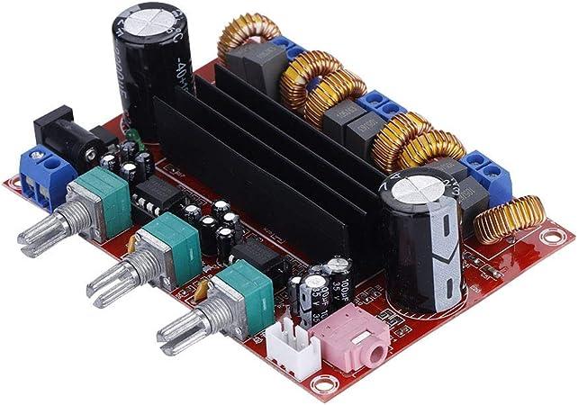 01 Amplificador de Potencia de 200 W sin Ajuste de Sonido de Alta sensibilidad con cancelación de Ruido, Placa de Amplificador Digital, para TV con Sonido: Amazon.es: Hogar