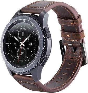 Gear S3 - Correa de Piel para Reloj Samsung Gear S3 Frontier ...