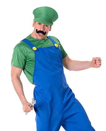 mens plumber green halloween costume
