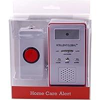 Xcellent Global Monitores Seguridad Timbre Inalámbrico Alerta Alarma