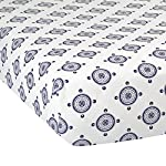 Lambs-Ivy-Classic-Collection-Fitted-Crib-Sheet-Medallion-BlueGrayWhite