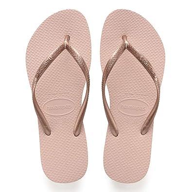 Havaianas Damen Slim Zehentrenner, Pink (Ballet Rose), 3536 EU (3334 BR)