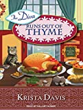 img - for The Diva Runs Out of Thyme: A Domestic Diva Mystery book / textbook / text book