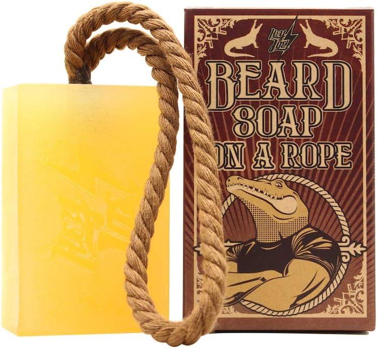 Pastilla jabón para barbas
