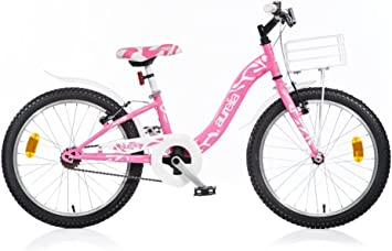 Bicicleta Niña Dino Bikes Aurelia Smarty 20 Pulgadas Frenos ...