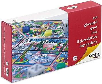 Cayro - Oca Magnético Viaje - Juego Tradicional - Juego de Mesa - Desarrollo de Habilidades cognitivas - Juego de Mesa (403): Amazon.es: Juguetes y juegos